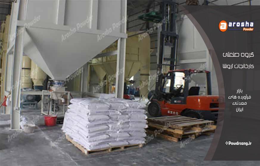 تولید پودر میکرونیزه کربنات کلسیم مش 200 تا مش 2500