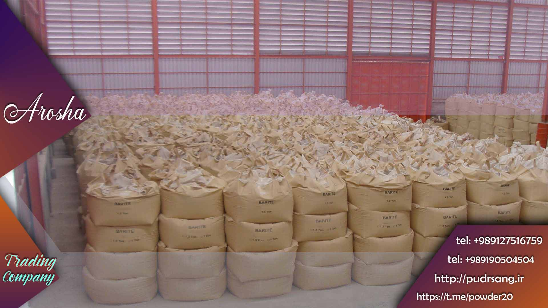 فروش عمده پودر میکرونیزه باریت